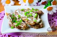 Мясо с горчицей и сметаной (на пару)