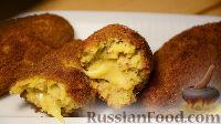 Хрустящие картофельные палочки с сыром
