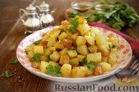Батата-харра (пряный картофель)