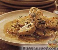 Картофель, запеченный с угрем