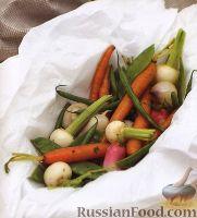 Овощи, приготовленные на пару