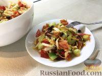 """Овощной салат с фасолью """"Дамский идеал"""""""