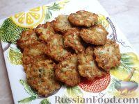 Картофельные драники с рыбой