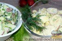 Простые салаты с редиской (два рецепта)