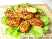 Котлеты по-гавайски (сочные куриные котлеты с овощами)