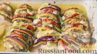 Куриное филе с овощами по-гречески