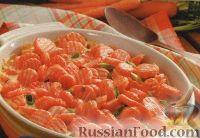 Морковь, запеченная с сыром