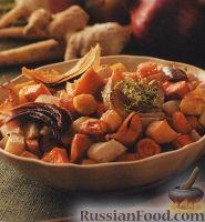 Зимние овощи, запеченные в духовке