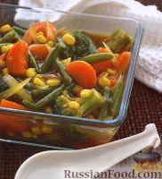 Овощи, приготовленные по-китайски