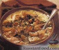 Картофель, запеченный с треской
