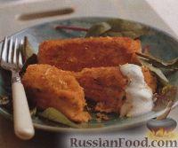 Картофельно-рыбные крокеты со сливочным соусом