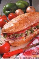 Сэндвич, приготовленный на гриле