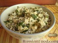 Салат «Морской» с рисом и морской капусты