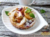 Горячий бутерброд с фруктами