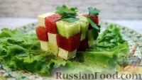 """Салат """"Арбузный куб"""""""