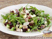 Салат из свеклы и мяса