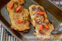 Запеченная свинина с медом и имбирем