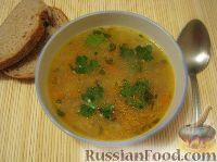 Картофельный суп с сушеными грибами