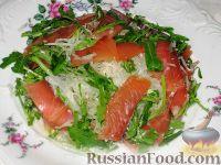 Салат из семги и дайкона
