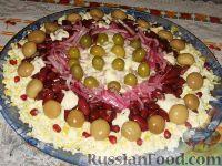"""Праздничный салат """"Колесо обозрения"""""""