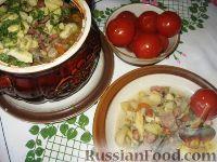 Украинская печеня в горшочке