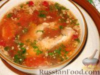 Рыбный суп с клюквой