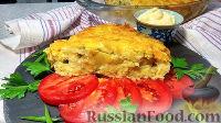 Овощная запеканка из картофеля и цветной капусты