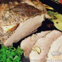 Домашняя буженина из свинины (в рукаве)