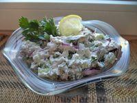 Египетский салат с сыром фета (сиртаки)