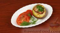 Запеченная картошка с сыром и грудинкой