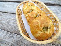 Мини-пироги из бездрожжевого теста, с мясом и картошкой