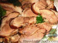 Свиная рулька варено-печеная