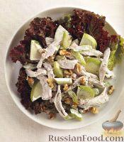 Салат из мяса птицы