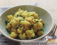 Рагу из картофеля и цветной капусты