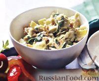 Салат с артишоками и шпинатом