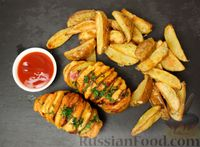 Картофель, запечённый в духовке (два рецепта)