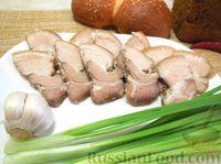 Свиная грудинка, запечённая в фольге
