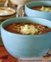 Суп куриный с чипсами «тортилья»