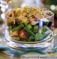 Слоеный салат «Нисуаз» с тунцом