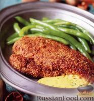 Курица с орехами и горчичным соусом
