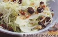 Салат из капусты и фенхеля