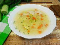 Суп из индейки, с пшеном