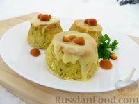 Картофельные мини-запеканки с грибами и сыром
