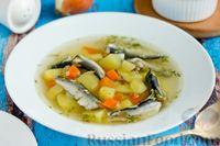Суп с салакой и картофелем