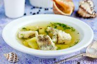 Рыбный суп из минтая с картофелем