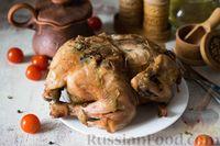Курица в мультиварке, запечённая целиком
