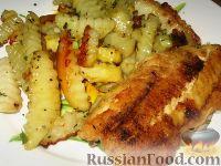 Рыба с картофелем