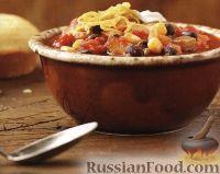 Овощное рагу с фасолью и кукурузой
