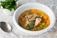 Суп из говяжьих хвостов с нутом и сельдереем