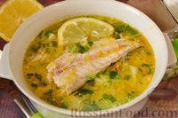 Суп из скумбрии с картофелем и рисом